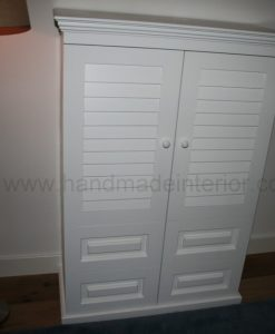 tv meubel met shutters