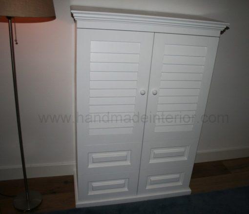 tv meubel met shutters
