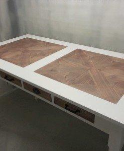 Mozaiek bartafel met lades