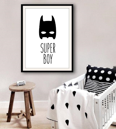 Poster Super Boy Batman